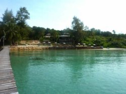 View of the Koh Kood Restaurant from the pier