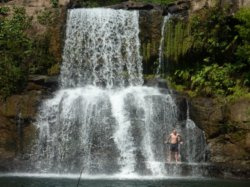 Main Waterfall on Koh Kut (ko kood) island