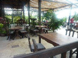 the Koh Kood Sea View restaurant